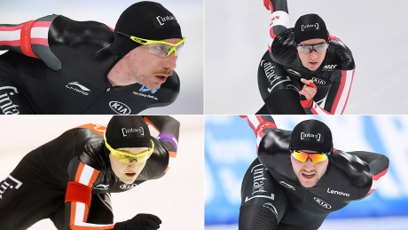 Ted-Jan Bloemen, Ivanie Blondin front Canada's Olympic long track team