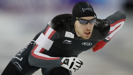 Canadian speed skater thinks Russians cost him an Olympic spot