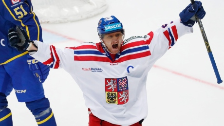 Martin Erat to captain Czech Olympic hockey team