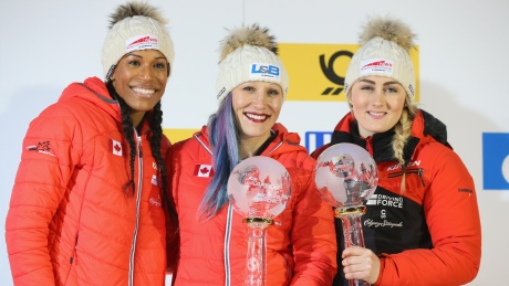 Kaillie Humphries wins 4th bobsleigh World Cup title