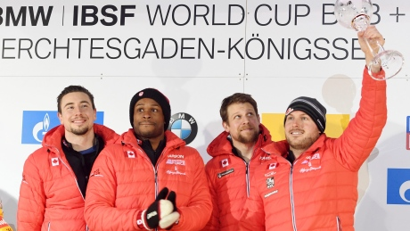 Justin Kripps finishes 4-man bobsleigh season just shy of overall podium