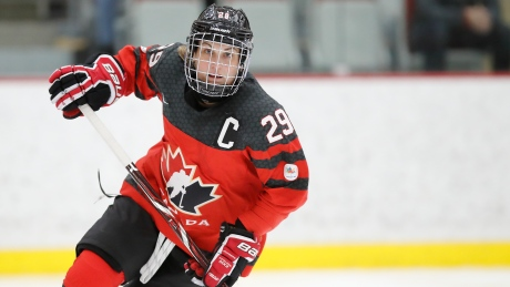Marie-Philip Poulin to captain Canadian women's Olympic hockey team