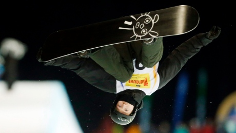 Olympic halfpipe champ Iouri Podladtchikov suffers broken nose after scary wreck