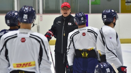 There's plenty of CanCon on South Korea's men's hockey team