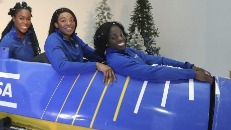 Nigeria's 1st bobsleigh team excited to represent country