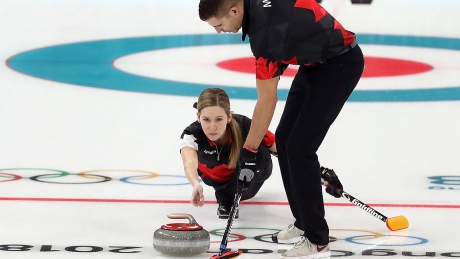 Canada bounces back in Olympic mixed doubles curling