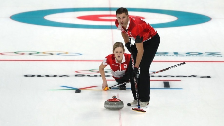 Canada's Lawes sinks Finland with clutch shot in mixed doubles curling