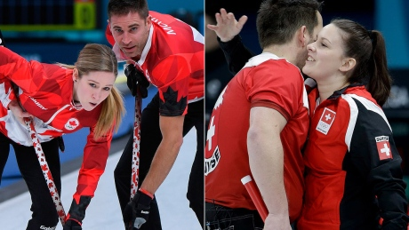 Switzerland to face Canada for curling mixed doubles gold