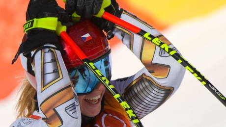 Pyeongchang is full of surprises: Snowboarder becomes Olympic alpine skiing champ