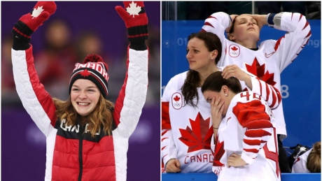 Canadian Trail: How Canada did today at the Olympics