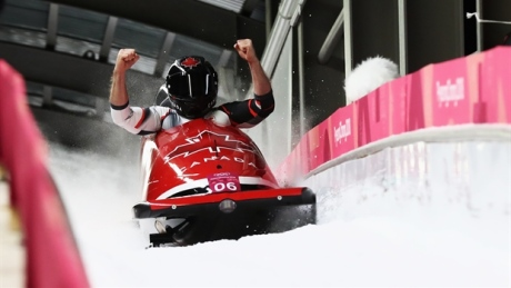 Canadians slid to medals in Pyeongchang