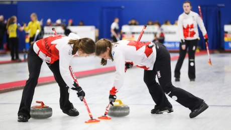 Canadian teams start strong at world junior curling championships