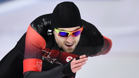 Laurent Dubreuil finishes 12th at Sprint Speed Skating Championships