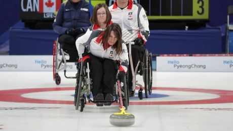 (Live at 12:30 am ET) Paralympic Winter Games   Day 2   Wheelchair Curling: CAN vs. SWE