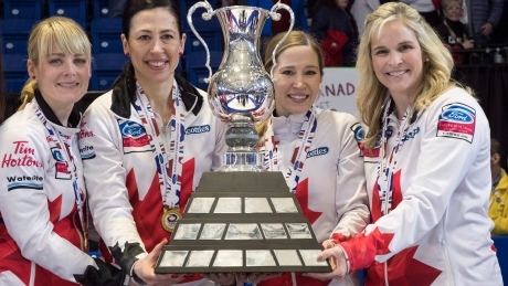 World championship curling win marks 'bittersweet' end for Team Canada's Jill Officer