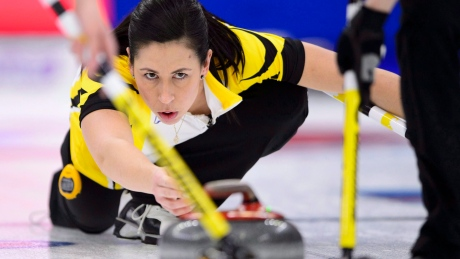 Jill Officer swaps broom for mic as she embarks upon life after curling