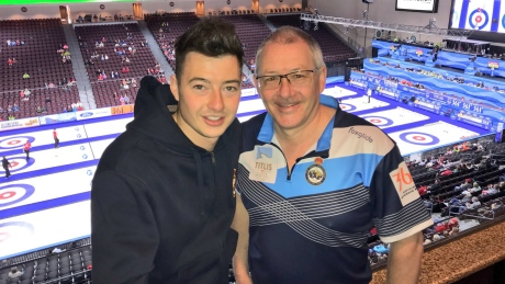 Hammy McMillan returns: Scottish curler follows in father's legendary footsteps