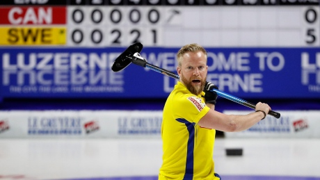 Niklas Edin takes world curling crown from Brad Gushue