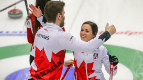 Canada captures bronze at world mixed doubles curling championship