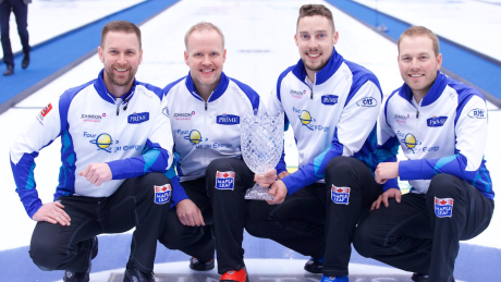 Gushue, Homan cap Grand Slam season with Champions Cup titles