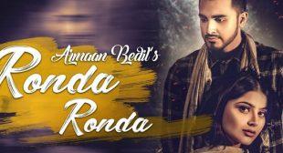 Ronda Ronda Lyrics – Armaan Bedil