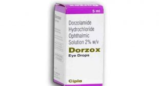 Buy Dorzox Eye Drop Online, Dosage, substitute, price
