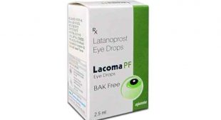 Buy Lacoma PF eye drops Online, Latanoprost, uses