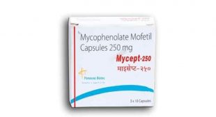 Buy Mycept 250mg Online, Mycophenolate Mofetil uses