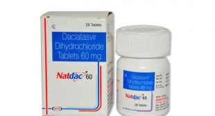 Buy Natdac 60mg Online, Uses, Price, Side effects