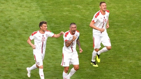 Serbia's Kolarov the difference-maker in win over Costa Rica