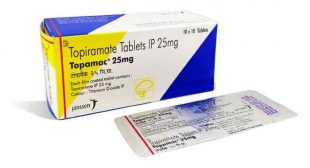 Buy Topamac 25mg Online, uses, composition, Price