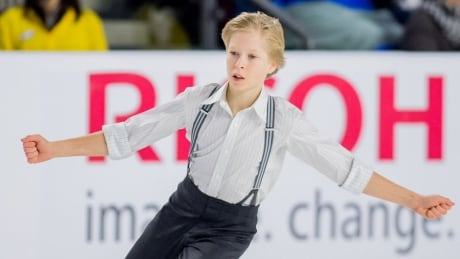 The future of Canadian figure skating is barely old enough to compete