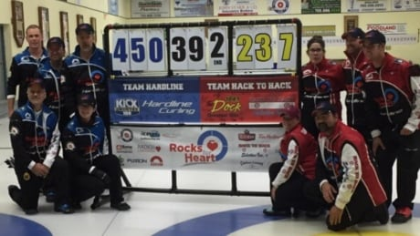That's a lot of sweeping: Canadian curlers set world record with 105-hour game