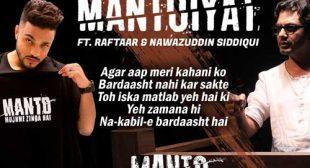 Mantoiyat Lyrics – Raftaar
