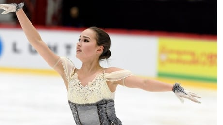 Olympic champion Zagitova leads Helsinki Grand Prix despite flub