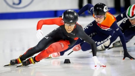 Alyson Charles leads Canadian youth movement at short track season opener