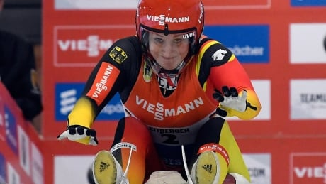 German women's lugers post 1st podium sweep at Lake Placid in decade
