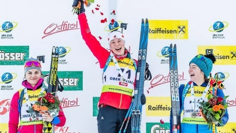 Canadian women capture biathlon gold, bronze at IBU Cup