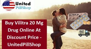 Buy Vilitra 20mg Tablets With PayPal at Discount Price in USA