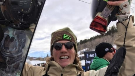 Canadian snowboarder Darcy Sharpe still proving his doubters wrong