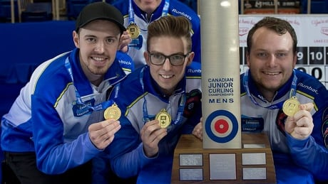 Tardi makes junior curling history with 3rd consecutive Canadian title