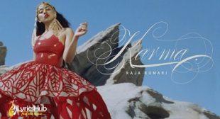 KARMA LYRICS – RAJA KUMARI New Song 2019 | iLyricsHub