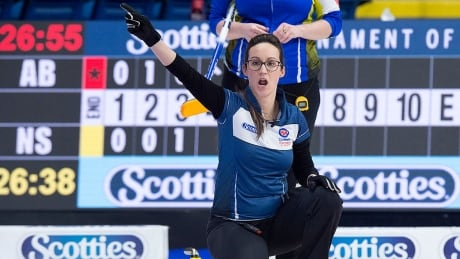 Losing your voice in curling is a skip's worst nightmare