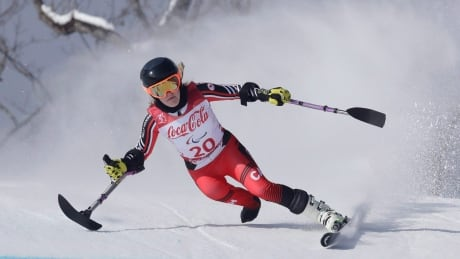 Canadian pair on slalom podium at para alpine World Cup