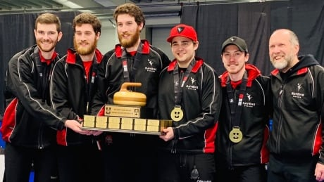 Carleton University claims school's 1st men's national curling championship