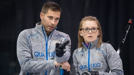 John Morris, Jolene Campbell lead way at Canadian mixed doubles championship