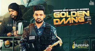 GOLDEN DAANG LYRICS – Resham Singh Anmol