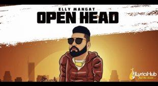 OPEN HEAD LYRICS – ELLY MANGAT | iLyricsHub