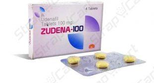 Zudena 100mg : Price, Uses, Review, Dosage | Strapcart