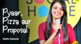 Pyaar, Pizza aur Proposal Poetry Lyrics | Nidhi | Love Story | The Social House Poetry